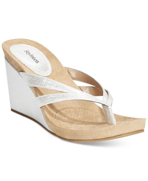 style co cassiee wedge sandals only at macy s in