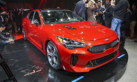 auto show 2017 detroit auto show 2018 kia stinger 187 autonxt