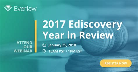one discovery supports women in ediscovery as 2018 national sponsor join our webinar 2017 ediscovery year in review the