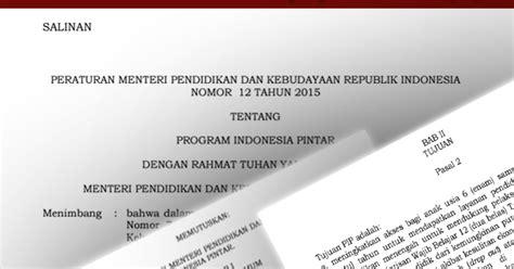 Buku Pintar Microsoft Word permendikbud no 12 tahun 2015 tentang program indonesia