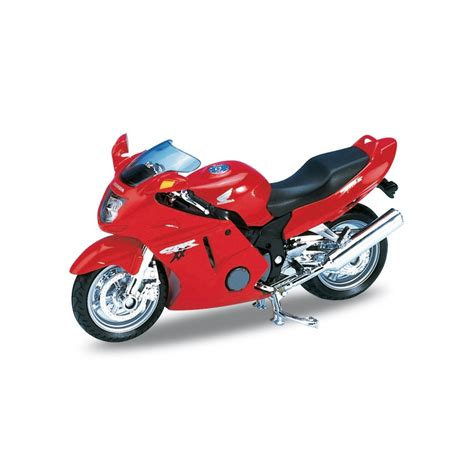 Honda Cbr 1100xx Welly Diecast Motorcycle Model 1 18 Collector S M honda cbr1100xx 1 18 welly wel 12143 model car direct