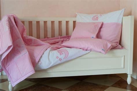 kinderbettwasche mond und sterne bettw 228 sche set mond und sterne rosa