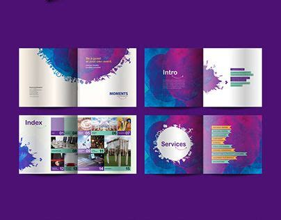 Brochure Design Created For An Event Management Company Based In Dubai Flyers Pinterest Event Management Flyers Templates