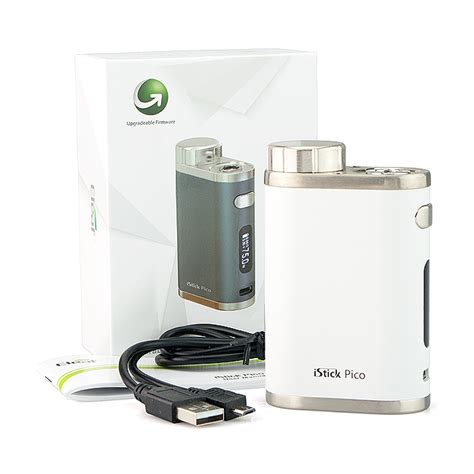 Kp778 Elego Eleaf Istick Pico Eleaf Tc Box Mod Fact Kode Tyr834 1 battery eleaf istick pico 75w tc box mod white