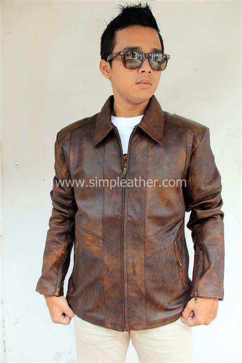 Jacket Kulit Original Premium 2712 jaket kulit pria tipe x106 simple leather