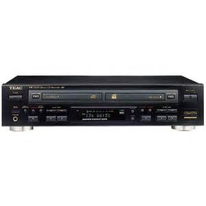 cd player deck gift teac rw d200 dual deck cd recorder and