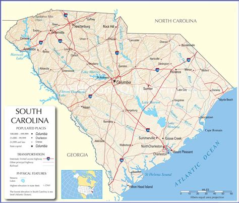 map of carolina cities south carolina map south carolina state map south carolina state road map map of south carolina