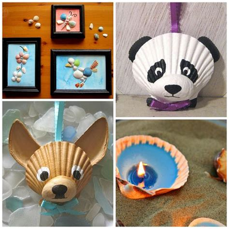 shell craft projects 78 best images about painted shells on