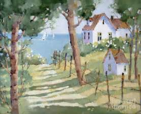 Cape Cod Home Plans perfectly peaceful nantucket painting by joyce hicks