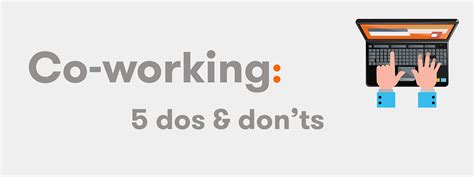 5 Dos And Donts Of Working From Home by The 5 Dos And Don Ts Of Co Working Sketch