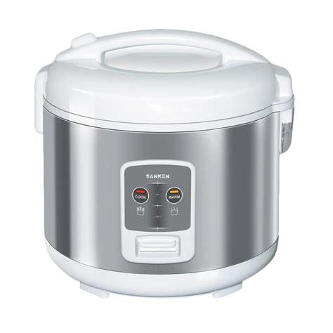 Rice Cooker Sanken 6 In 1 jual sanken sj 2200 rice cooker putih silver 1 8 l