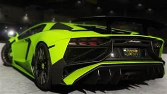 Lamborghini Aventador Lp700 4 Superveloce 2015 Lamborghini Aventador Lp700 4 Add On Sv Kit