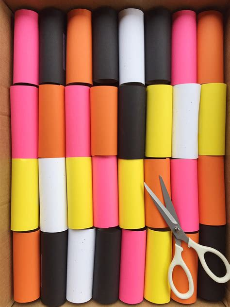 colorful toilet paper diy toilet paper roll garland