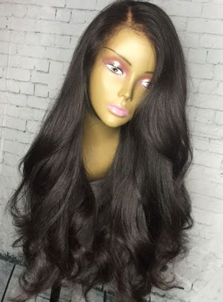 what is the best type of wig to wear for thinning edges 200 density loose weave lace front human hair wig