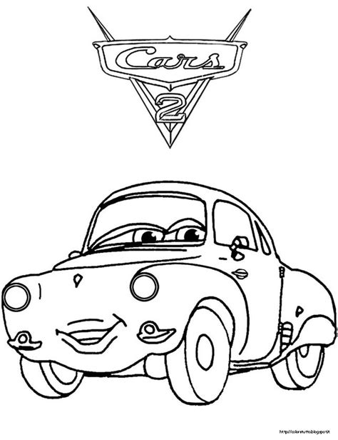 cars 2 coloring pages rip clutchgoneski how to draw rip clutchgoneski