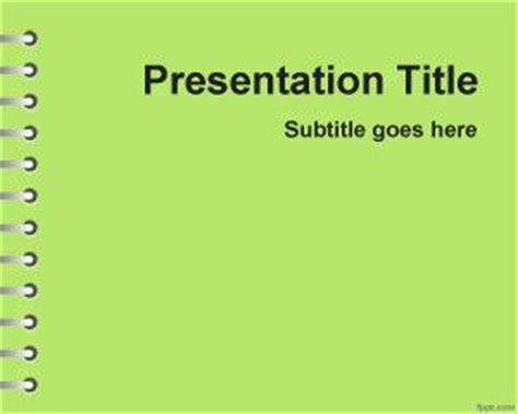 themes for senior presentation free green school homework powerpoint template