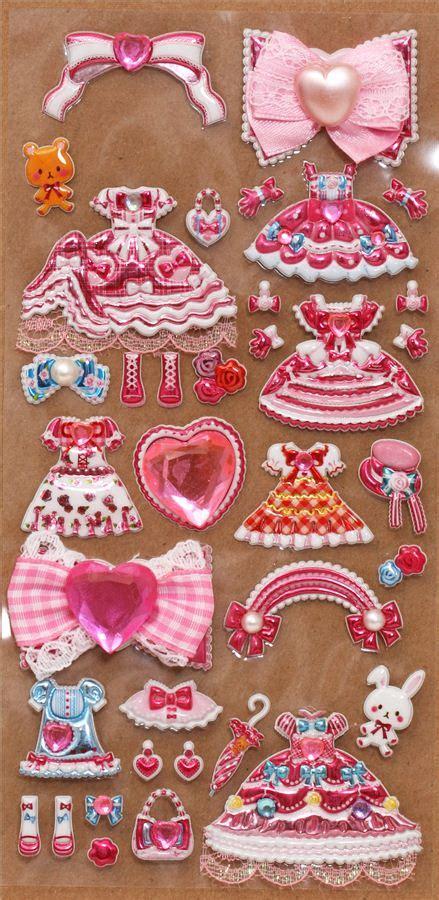 Kd10 Princess Dress Import Pink Size 12 pink princess dress up doll sponge stickers