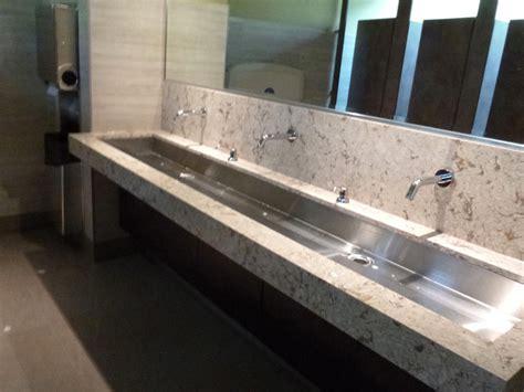 industrial metal bathroom snapshot travel blog snug harbour port credit renovated