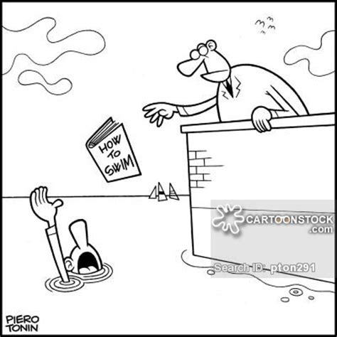 Repair A Leaky Faucet Drowning Cartoons And Comics Funny Pictures From