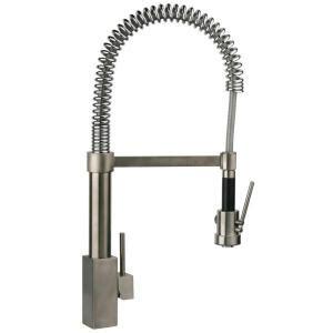spring kitchen faucet latoscana dax single handle pull down sprayer kitchen