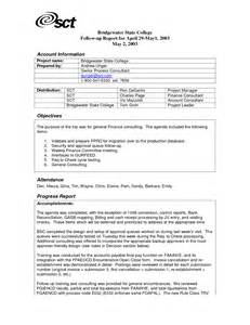 Sample Trip Report Template Business Report Example Pdf