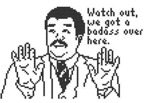 We Ve Got A Badass Over Here Meme - watch out we got a badass over here cross stitch pattern meme