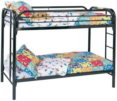 coaster futon bunk bed coaster 2256k twin twin bunk bed black 2256k at