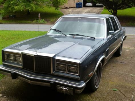 chrysler new yorker fifth avenue for sale used cars on buysellsearch chrysler fifth avenue new yorker for sale chrysler new yorker 1985 for sale in alpharetta