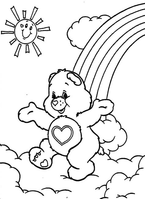 printable coloring page free printable care coloring pages for