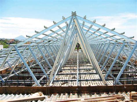 model atap baja ringan rumah minimalis cahaya rumahku