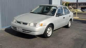 2000 Toyota Corola 2000 Toyota Corolla Ce Silver T Tak Auto Service