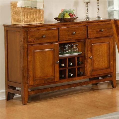 Steve Silver Mango Light Oak Dining Room Server Wayside Dining Room Server Furniture