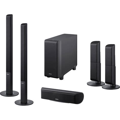 sony sa vs350h 5 1 channel surround sound speaker system