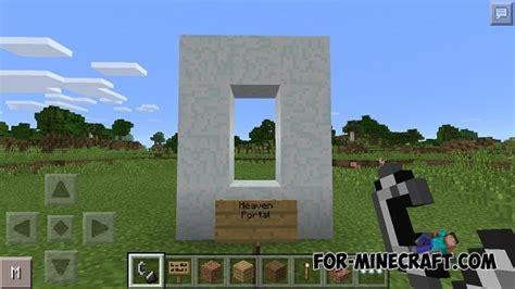 minecraft pe new portal heaven mod for minecraft pe 0 12 1 0 12 2