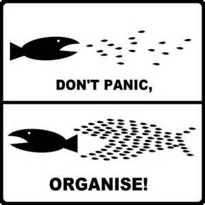 Organise Don T Panic Organise Unitegreenwich