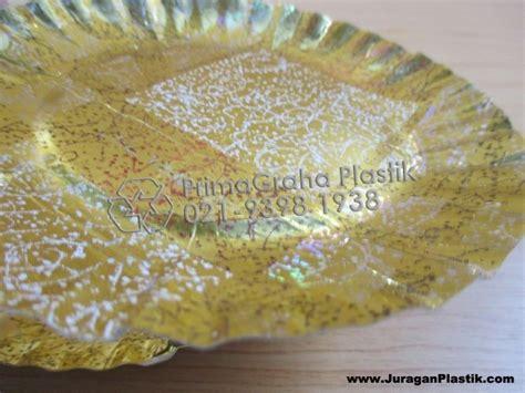 Piring Kertas Kue Emas Termurah Piring Emas Kertas Untuk Kue Ulang Tahun Home