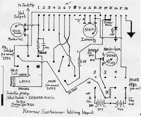 diagrams 800800 kramer rail wiring diagrams guitar