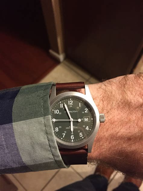 New watch arrival: Hamilton Khaki Field mechanical green dial!   Page 3