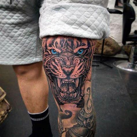 realistic lion leg tattoo design 25 best ideas about s leg tattoos on mens