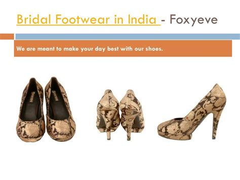 Bridal Shoe Shops by Ppt Bridal Shoe Shop And Showroom In Ludhiana Foxyeve