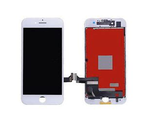 apple iphone   lcd screen replacement white touch