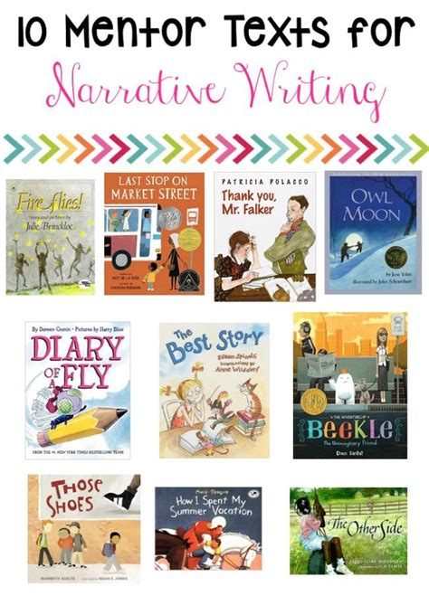 picture books to teach narrative writing 1000 ideas about mentor texts on personal