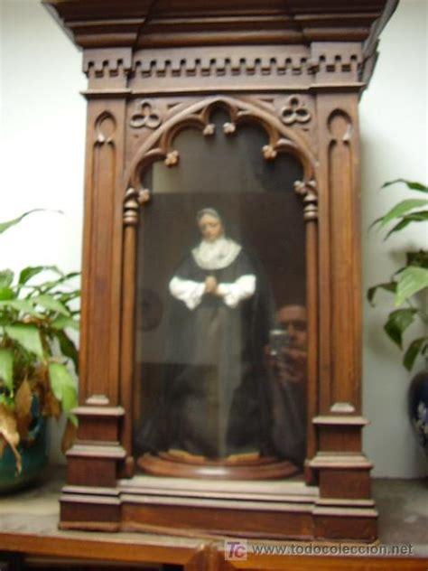 imagenes religiosas en madera talla de la virgen de los dolores en urna neog 243 comprar