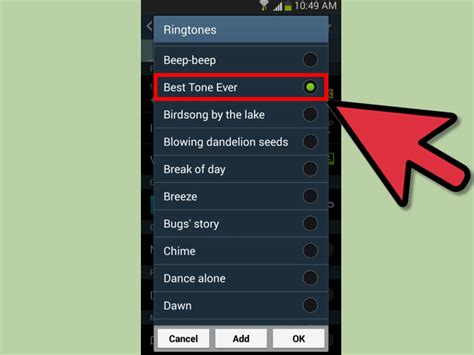 how to get ringtones on android how to set a ringtone for an android contact 14 steps