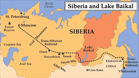 map of siberia russia with cities image gallery siberia location
