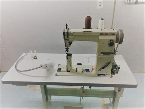 post bed sewing machine artisan 5110 post bed sewing machine old sold