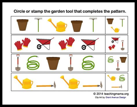 The Letter Garden by G Is For Garden Letter G Printables