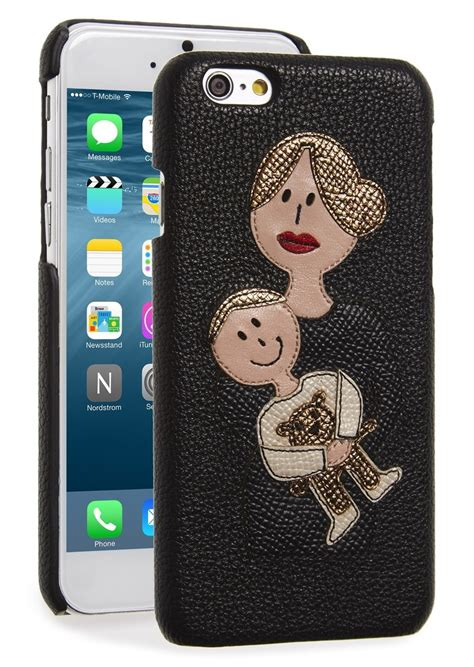 dolce gabbana dolce gabbana leather iphone 6 6s misc accessories shop it to me
