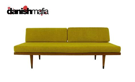 retro danish modern daybed sofa vintage mid century modern sofa couch daybed day bed nr