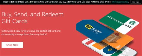 Can You Use A Nike Gift Card At Foot Locker - gyft buy 50 nike gift card with 10 bonus plus 5x miles to memories
